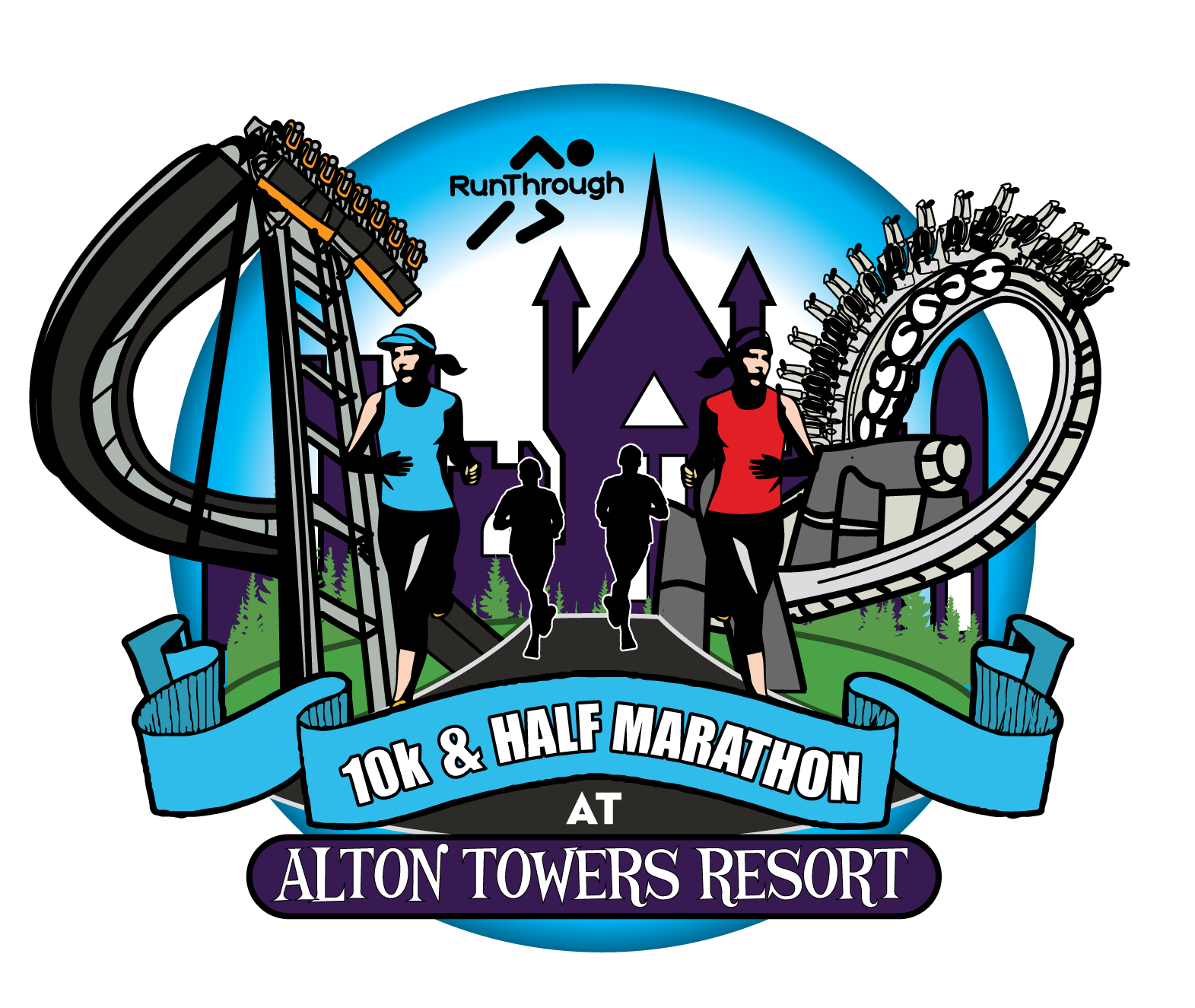 Run Alton Towers